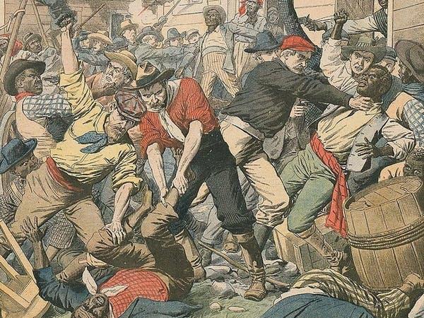 بمدينة أميركية قاد ديمقراطيون انقلاباً عام 1898