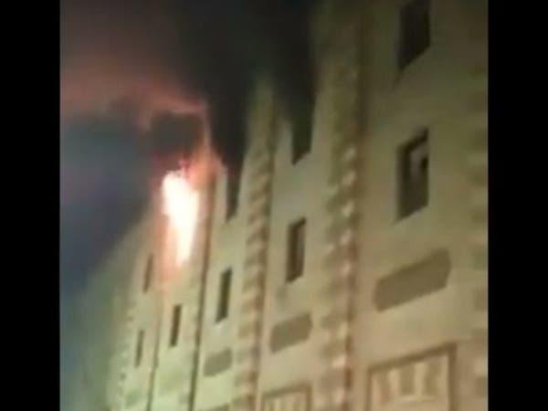 السيطرة على حريق بالجامع الأزهر
