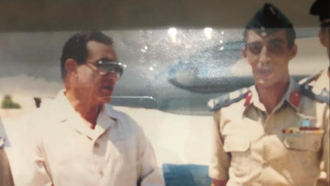Anwar Sadaat and Hussani Mubarak's Planes Pilot