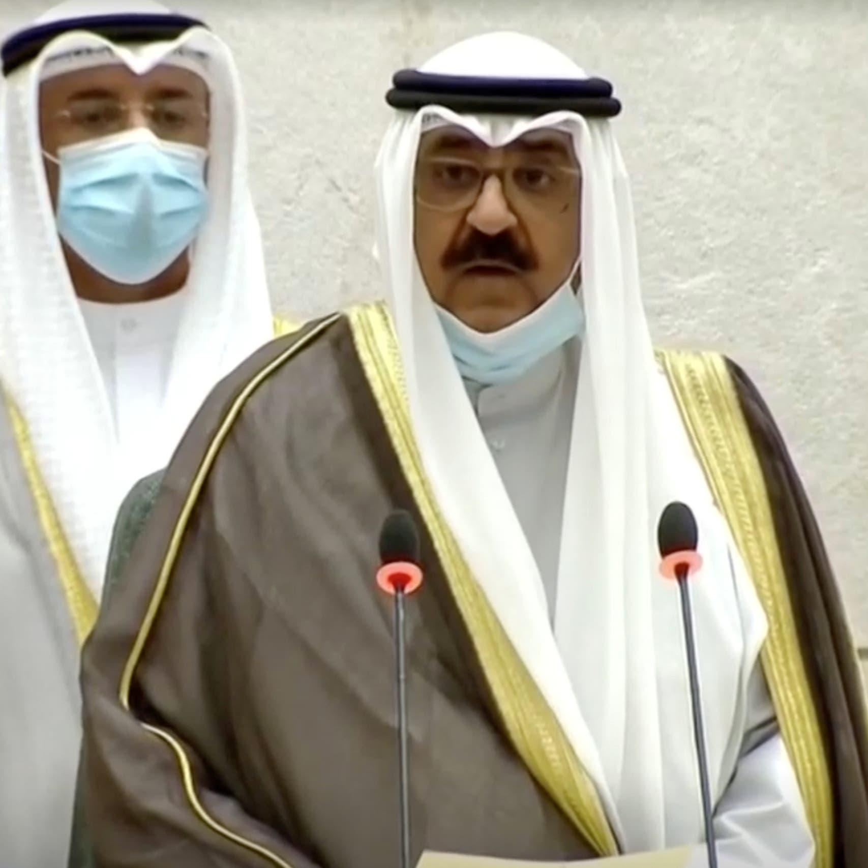 ولي عهد الكويت يؤدي اليمين الدستورية أمام مجلس الأمة