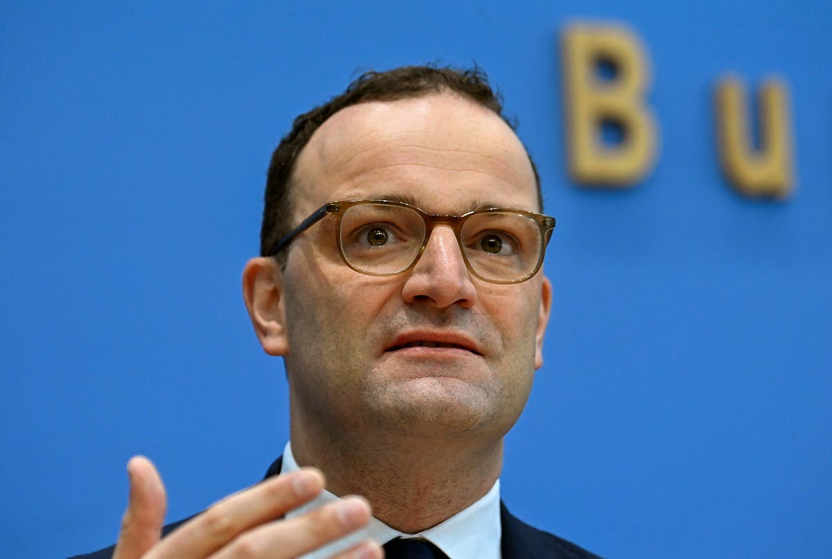 German Health Minister Jens Spahn addresses a news conference amid the coronavirus outbreak. (File photo: Reuters)
