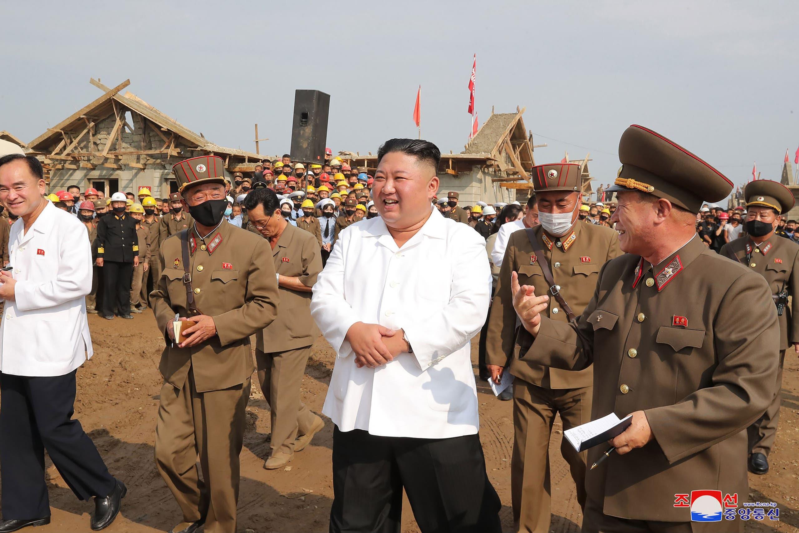 الزعيم الكوري الشمالي كيم يونغ أون