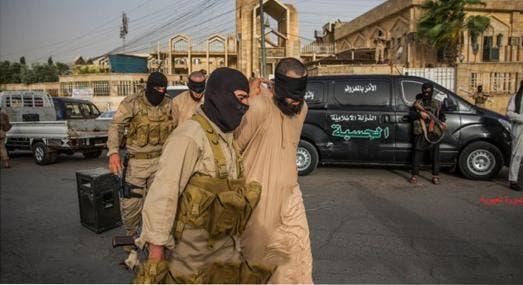 متهم گردانی توسط داعش