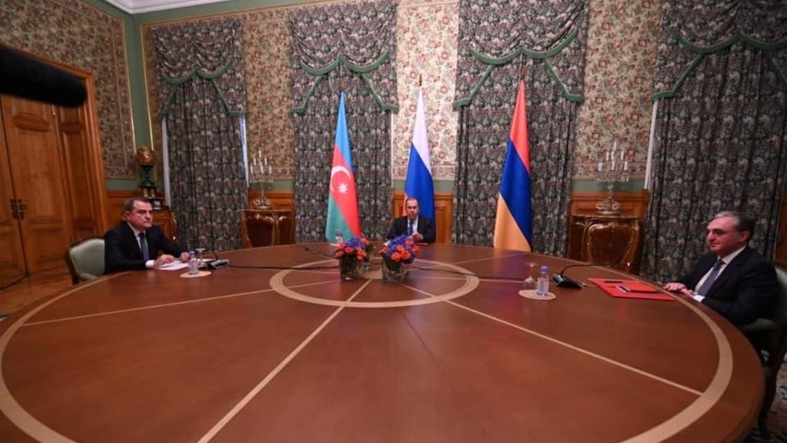 انطلاق المفاوضات بين أرمينيا وأذربيجان في موسكو