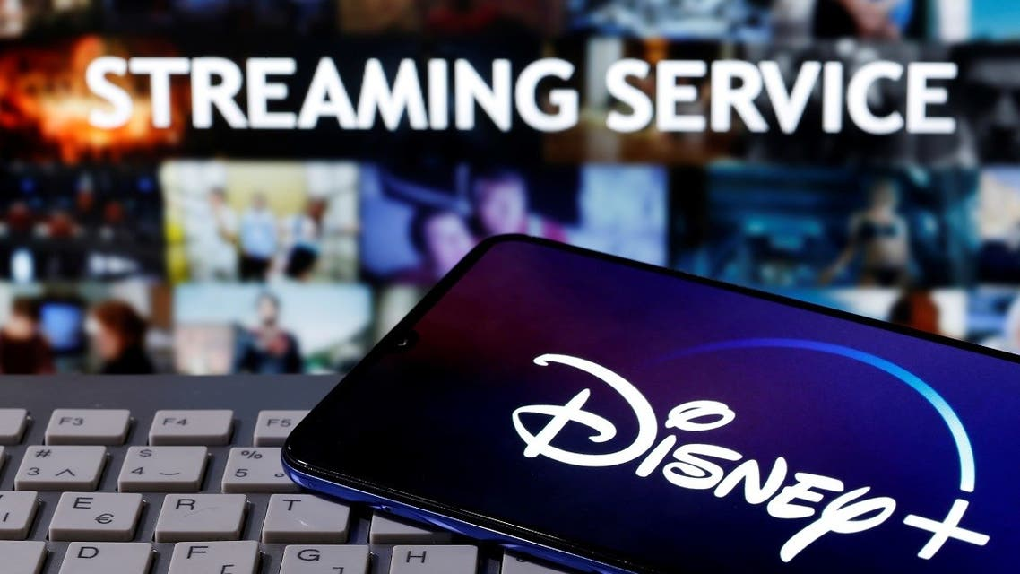 A smartphone with displayed Disney logo is seen on the keyboard in front of displayed Streaming service words in this illustration. (Reuters)_219809502_RC2NEJ9LBUH1_RTRMADP_3_FILM-SOUL