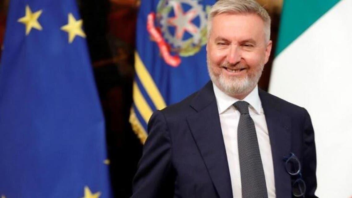 وزير الدفاع الإيطالي
