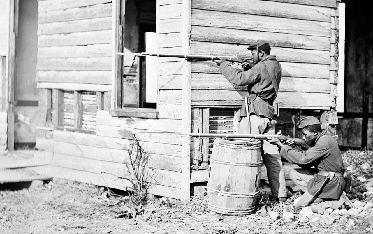 جنود سود شاركوا لجانب قوات الاتحاد بالحرب الأهلية