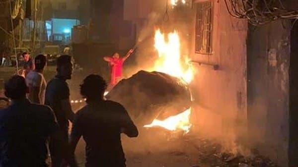 بيروت.. انفجار خزان للمازوت يوقع 4 قتلى و20 جريحا