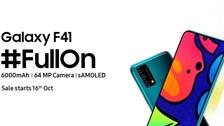 سامسونغ تعلن رسميًا عن هاتفها الأحدثGalaxy F41