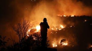 الحرائق تلتهم مساحات واسعة من أحراج سوريا ولبنان