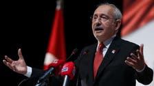 زعيم المعارضة التركية يدعو لانتخابات مبكرة