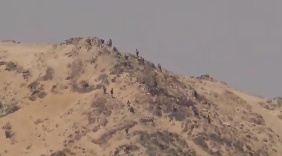 فرار الحوثيين في الجوف