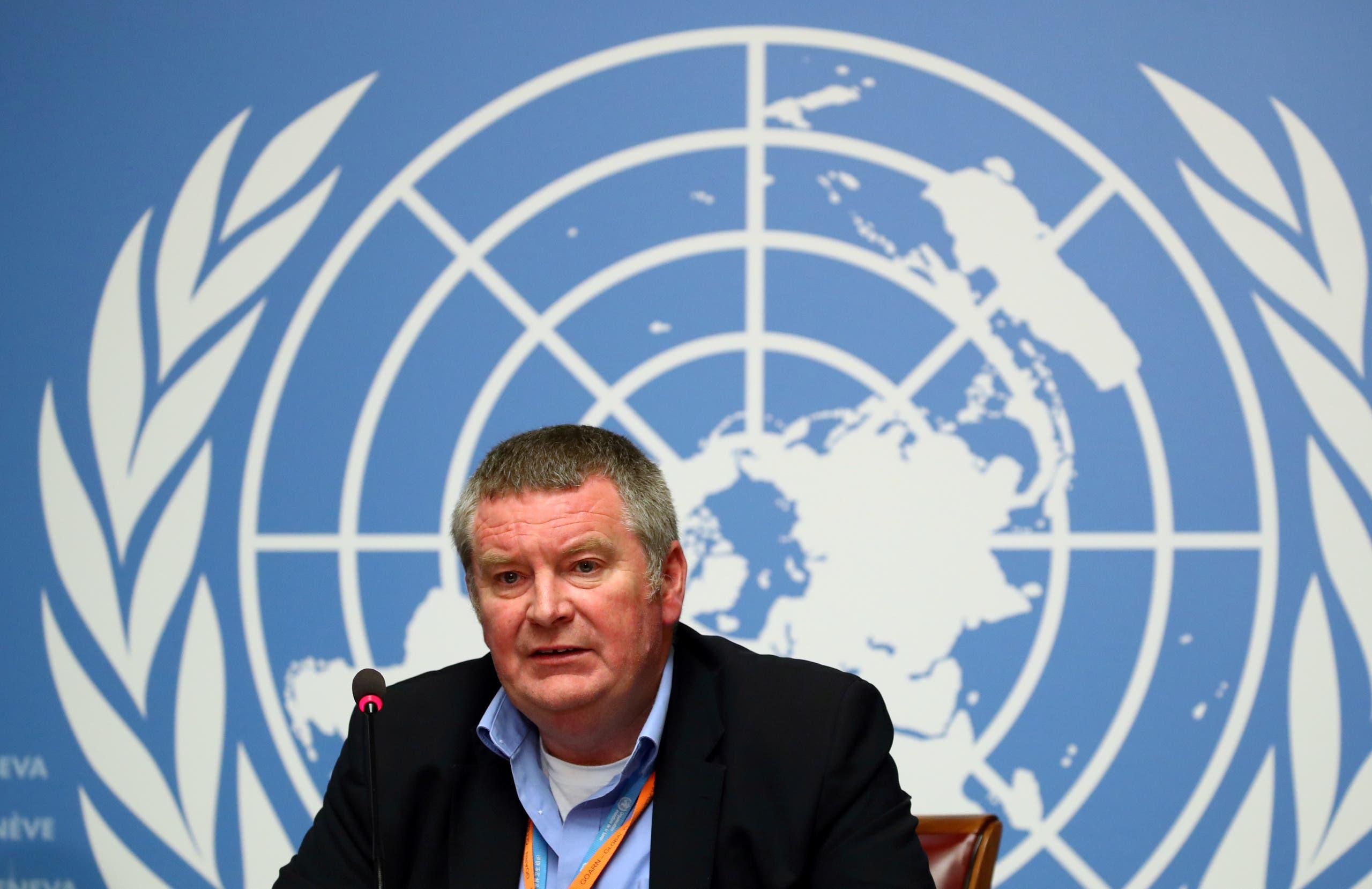 رئيس قسم الطوارئ بمنظمة الصحة العالمية الدكتور مايكل رايان