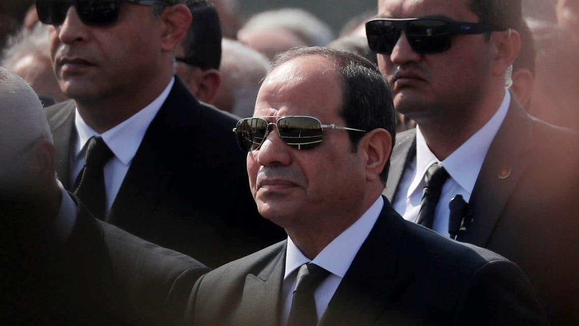 الرئيس المصري عبد الفتاح السيسي(أرشيفية- رويترز)