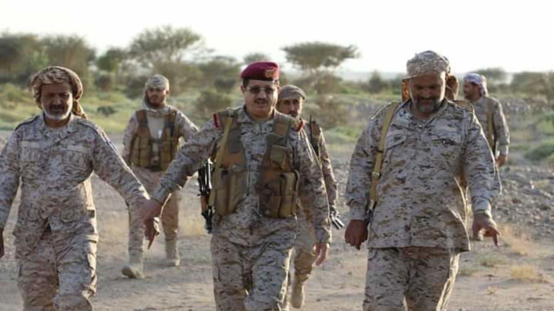 وزير الدفاع اليمني المقدشي