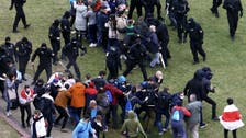 Belarusian police arrest some 50 protesters after clashes in Minsk: Interfax