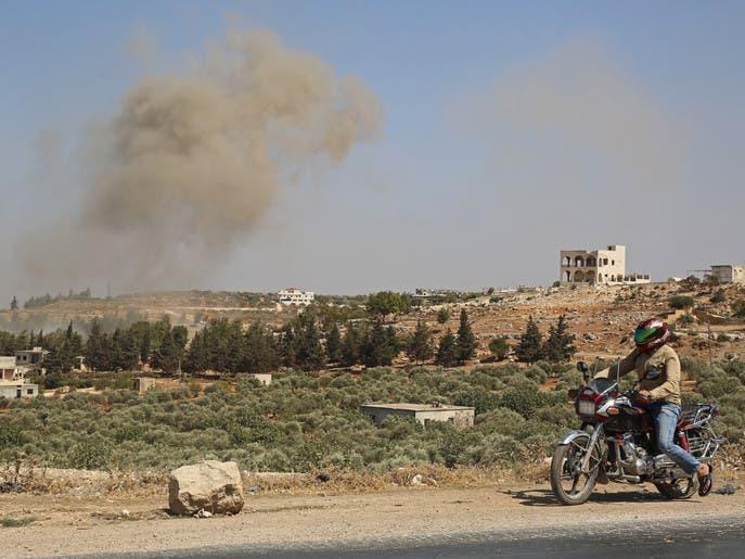 انفجارات تهز ريف إدلب الشمالي.. وتحليق طائرات مجهولة