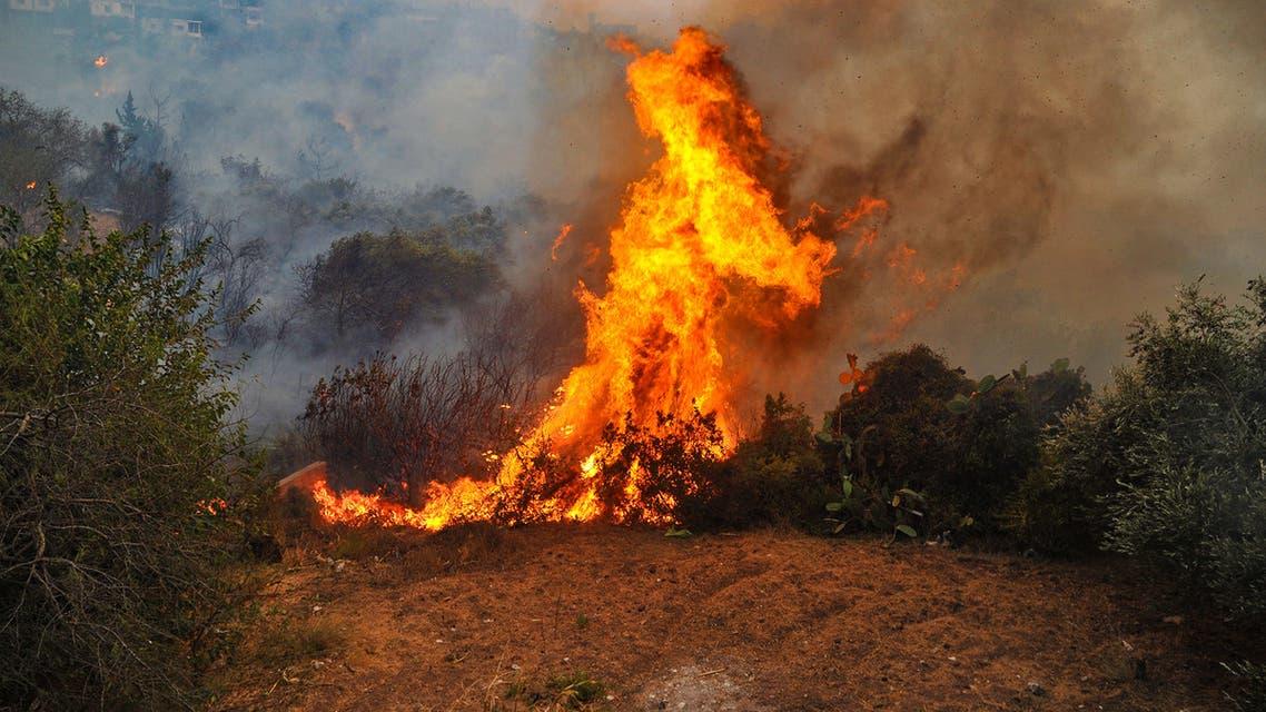 حرائق في لبنان (فرانس برس)