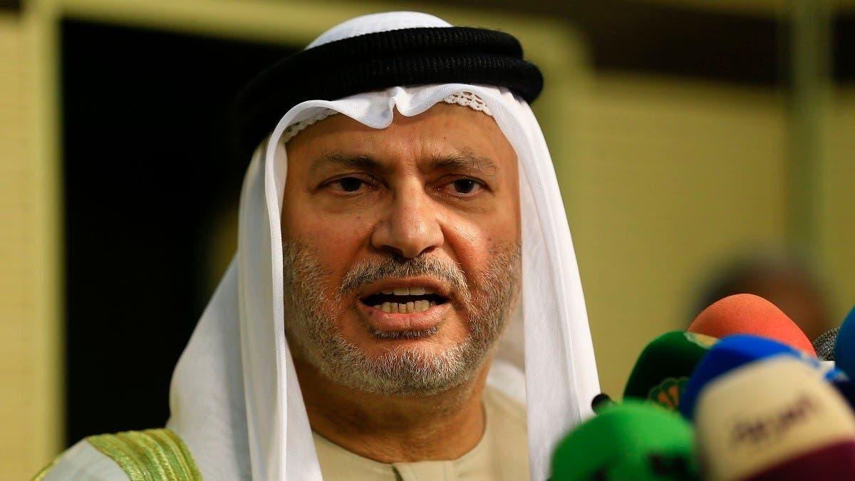 UAE's Gargash says Turkey's army in Qatar destabilizes region thumbnail
