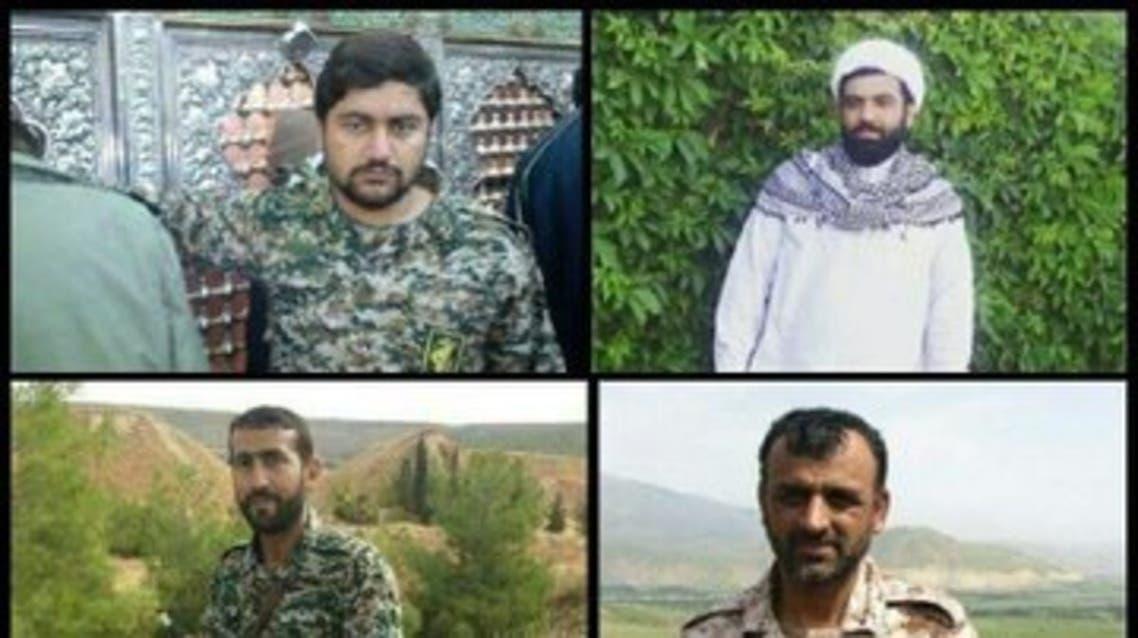 ضباط وعناصر الحرس الثوري السبعة من ضمن قتلى خان طومان