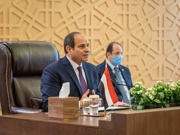 السيسي: لا مصالحة مع من يريد هدم مصر