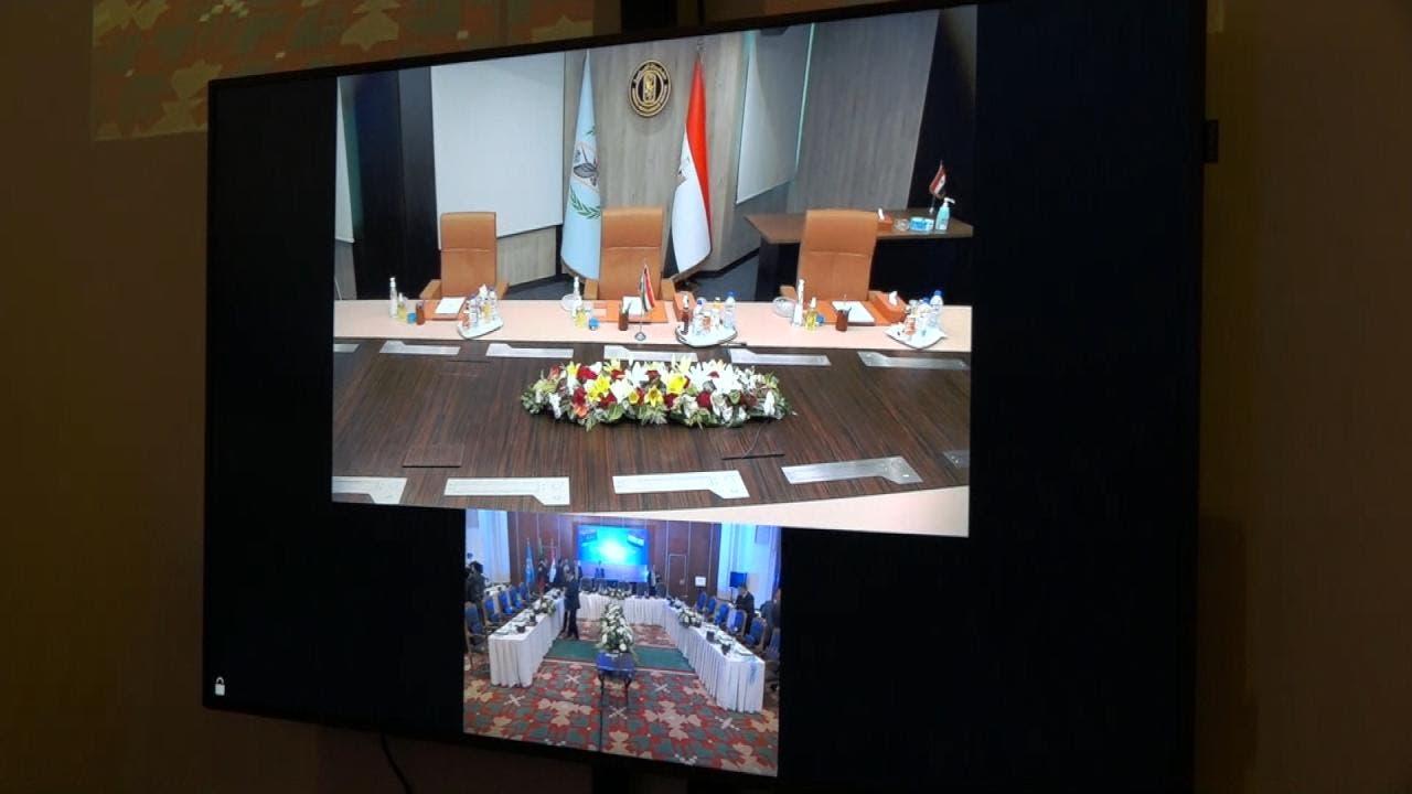 اجتماع القاهرة لوفدي مجلس النواب والدولة واعضاء هيئة الدستور لمناقشة المسار الدستوري في ليبيا برعاية الأمم المتحدة