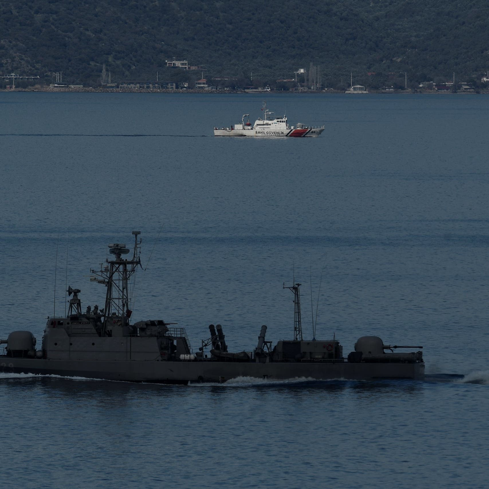 متجهة لمصراتة.. تركيا تمنع إيريني من تفتيش سفينة مشبوهة