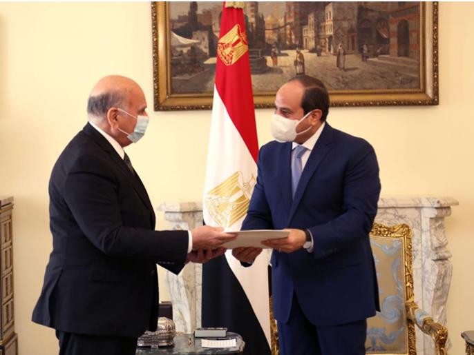 السيسي: ندعم العراق وتعزيز دوره لمواجهة التحديات