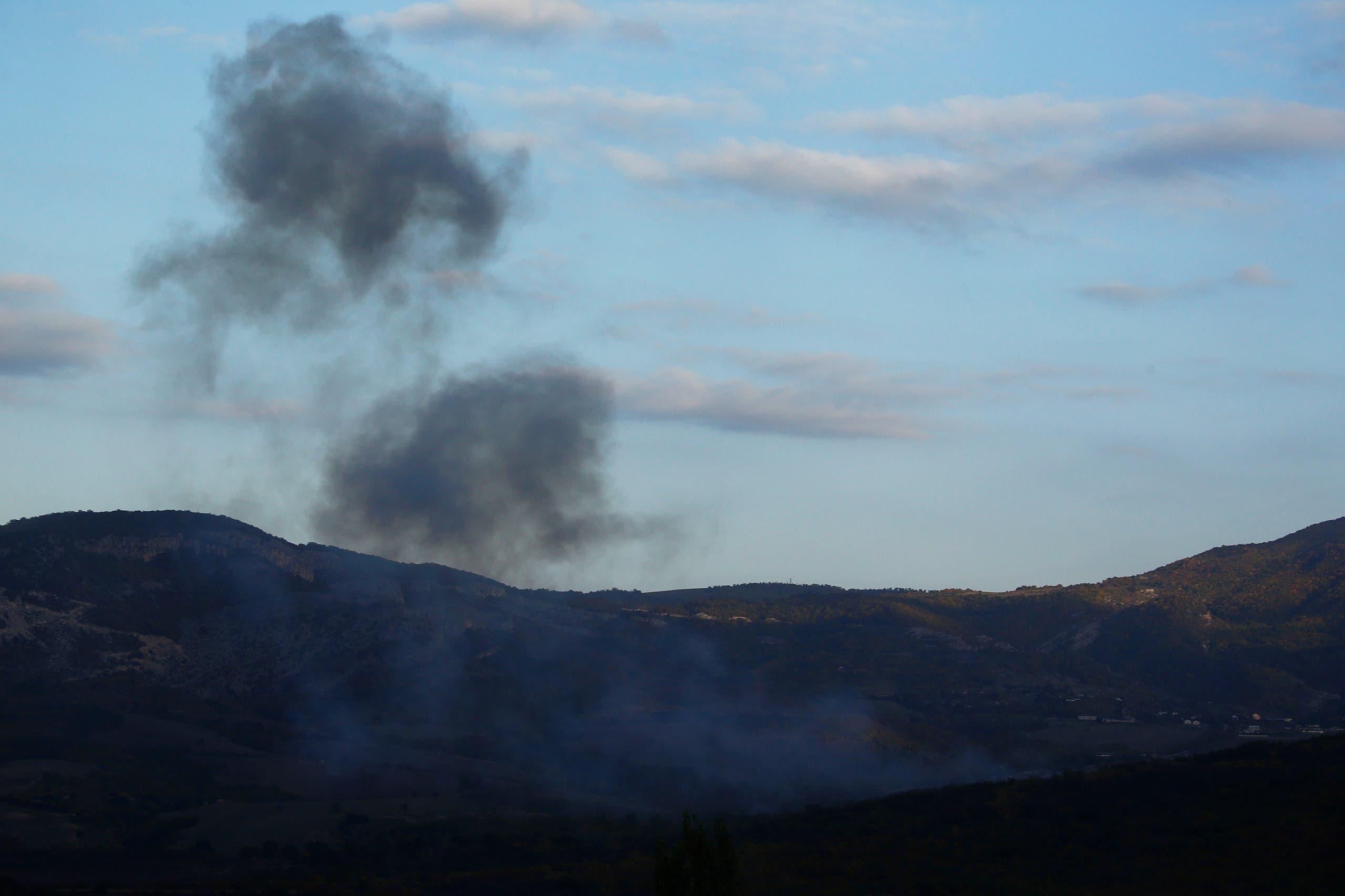 دخان المعارك يعلو سماء كاراباخ