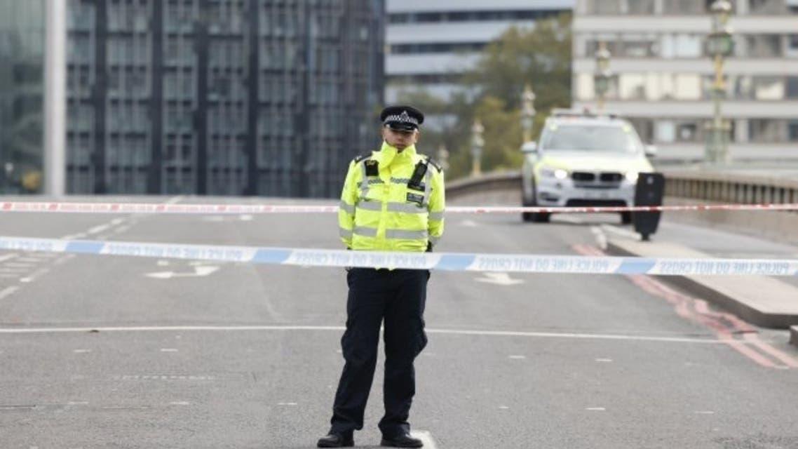 شرطة لندن تغلق المنطقة