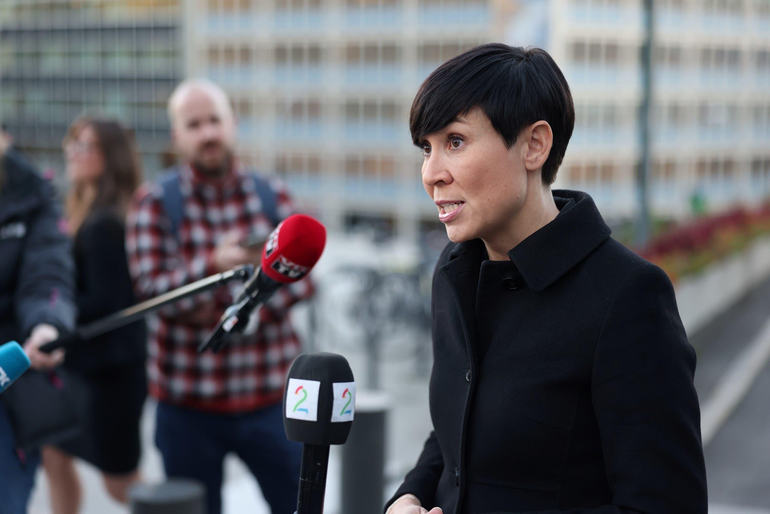 وزيرة الخارجية النروجية إينيه إريكسين سوريدي