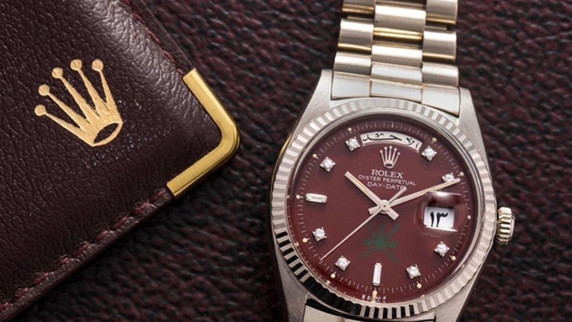 ساعة رولكس تحمل الرقم 127 في المزاد