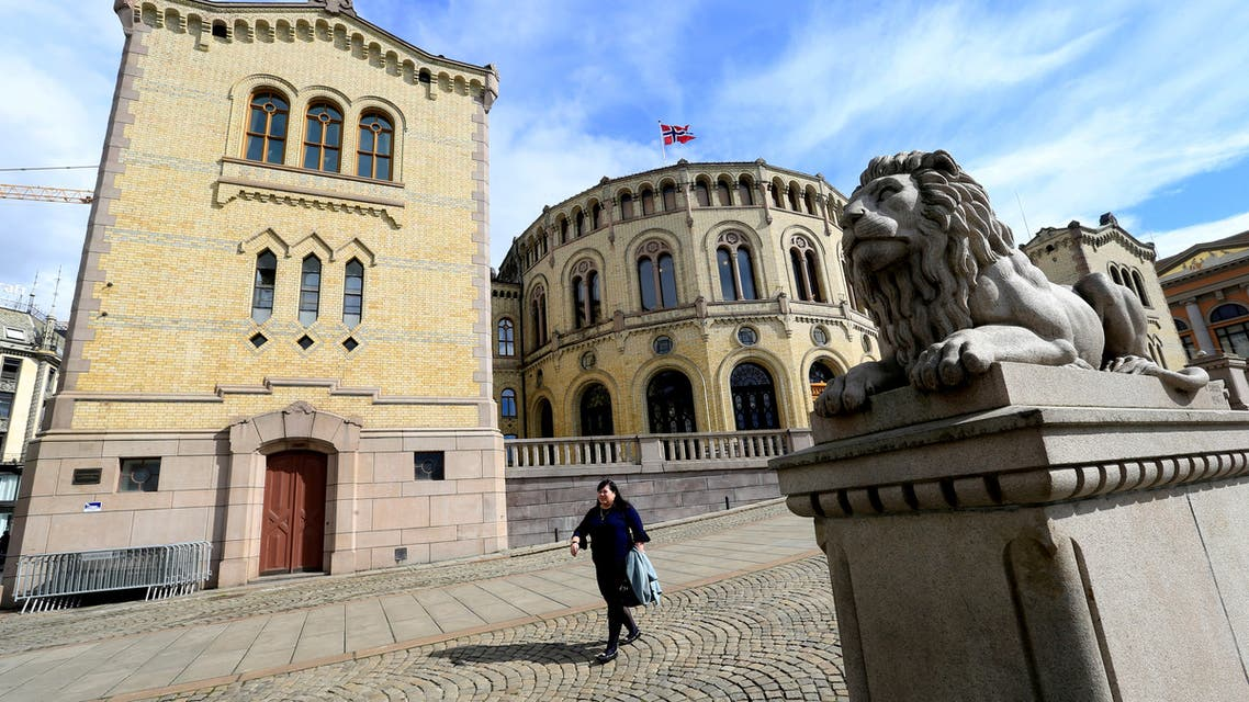 FILE PHOTO: Norwegian Parliament house is seen in Oslo, Norway May 31, 2017. REUTERS/Ints Kalnins/File Photo
