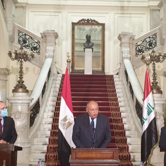 توافق مصري عراقي أردني على حفظ الأمن العربي ومنع التدخلات