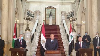 توافق مصري عراقي أردني على منع التدخلات في شؤون الدول العربية