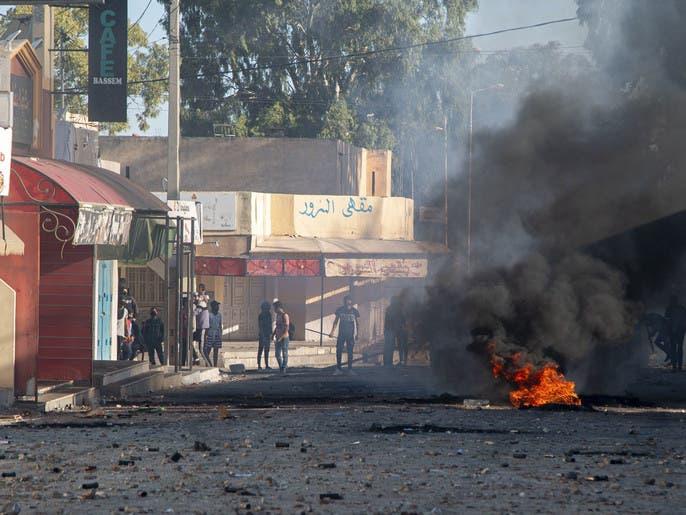 هدوء حذر في سبيطلة بتونس بعد اشتباكات الأمس