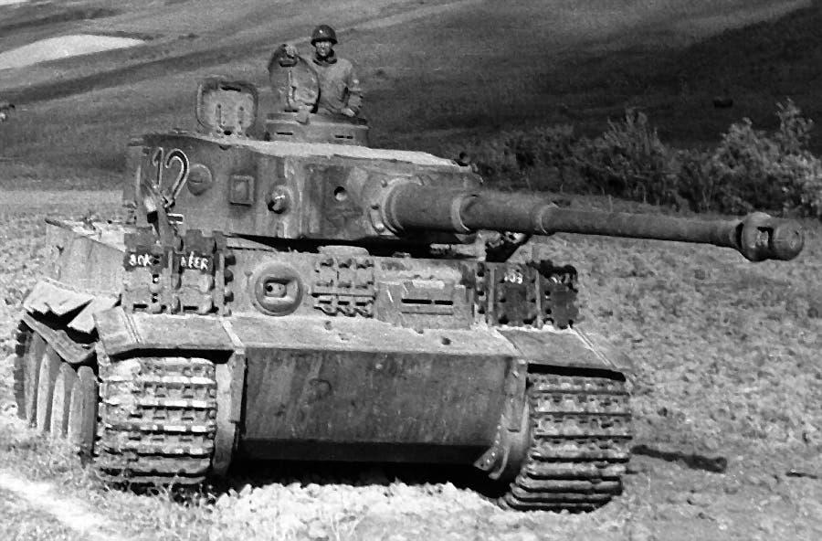 صورة لدبابة تايغر ألمانية