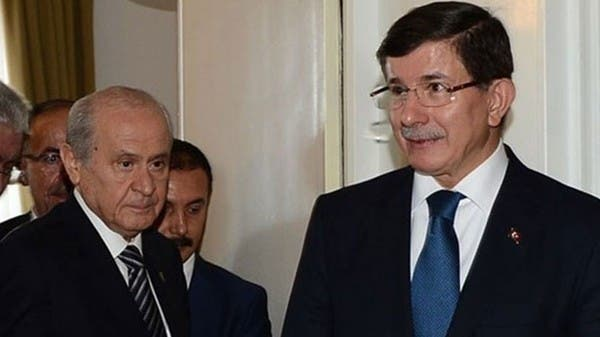 زعيم حزب المستقبل أحمد داوود أوغلو يهاجم حليف أردوغان