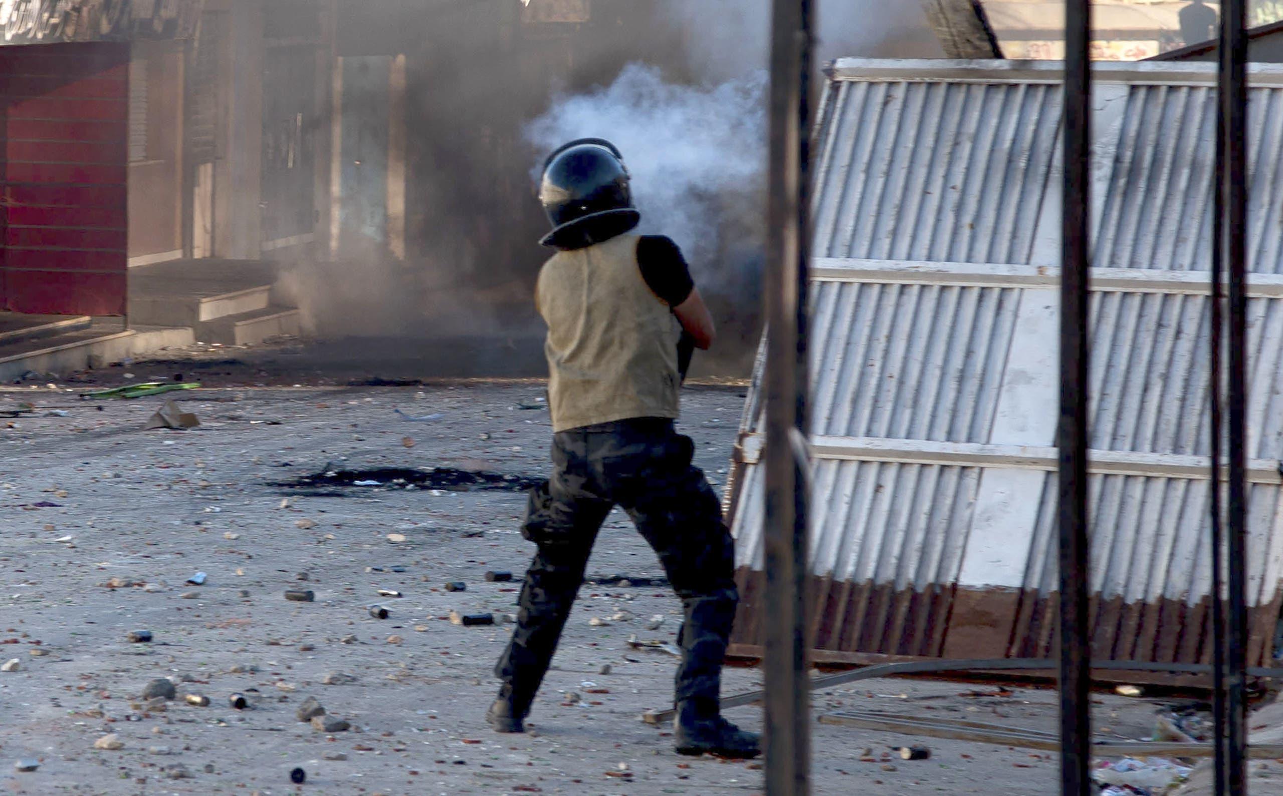 من الاحتجاجات أمس في سبيطلة