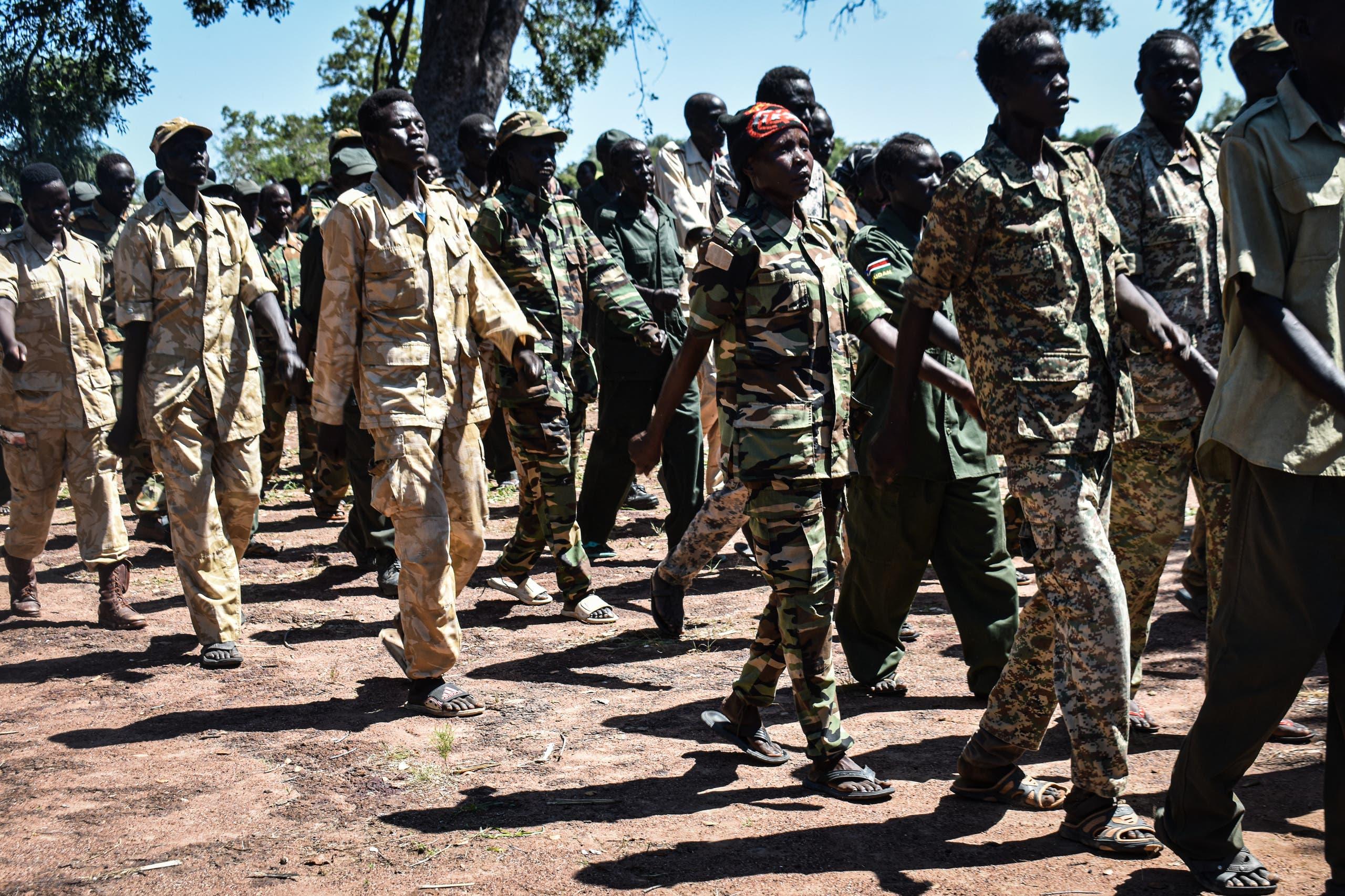 مقاتلون من جبهة الإنقاذ الوطني (أرشيفية)