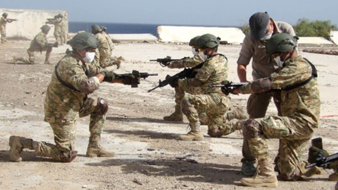 Turkish armed forces train Libyan fighters. (Turkish Ministry of National Defense)