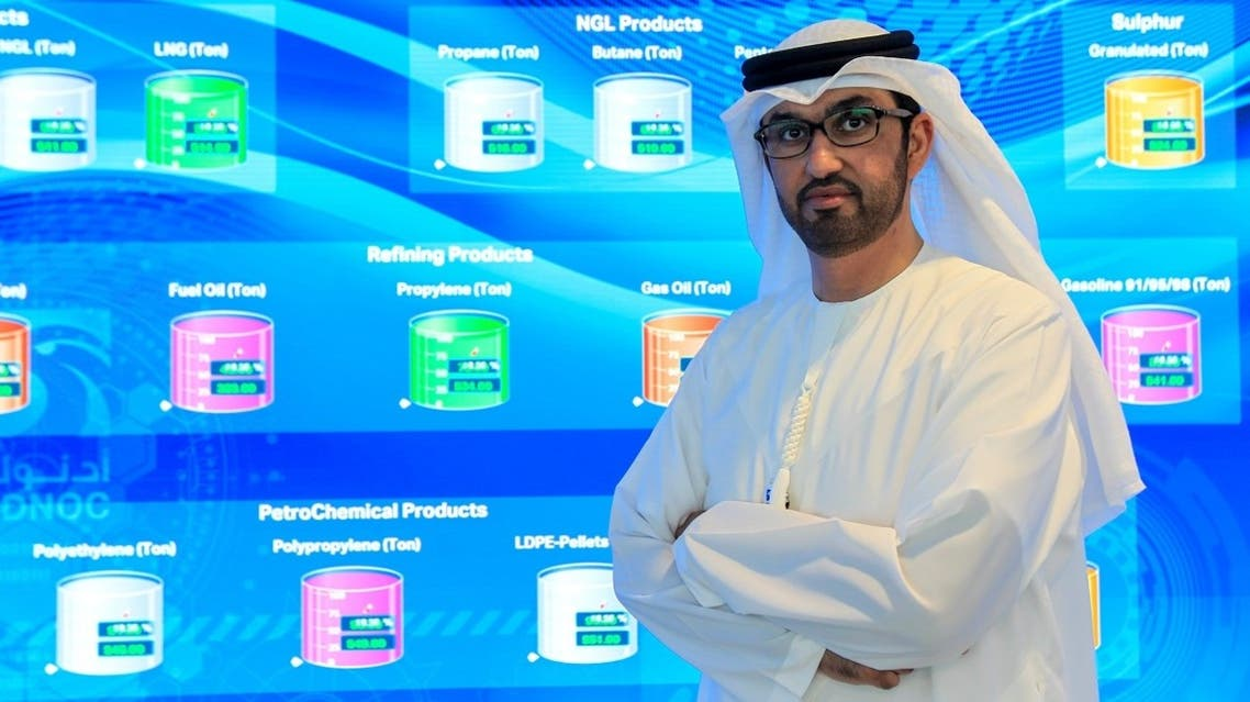 2020Sultan Ahmed al-Jaber, UAE Minister of State and the Abu Dhabi National Oil Company (ADNOC) Group CEO, at the Panorama Digital Command Centre, at the ADNOC headquarters in Abu Dhabi, UAE. (Reuters) -01-15T103132Z_1125706600_RC2AGE9S76WB_RTRMADP_3_EMIRATES-ADNOC-STRATEGY