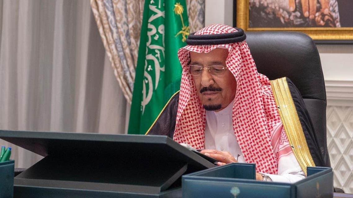 Saudi King Salman (SPA)