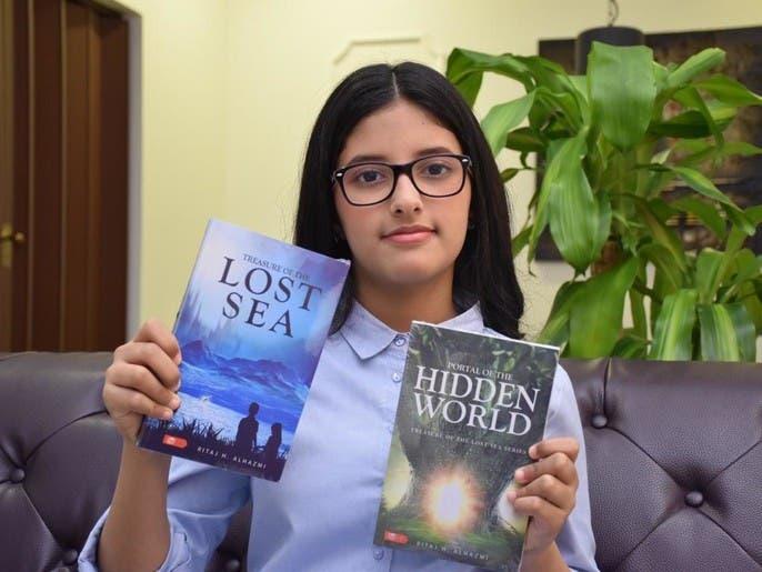 """أصغر روائية سعودية.. مرشحة للتسجيل في موسوعة """"غينيس"""""""