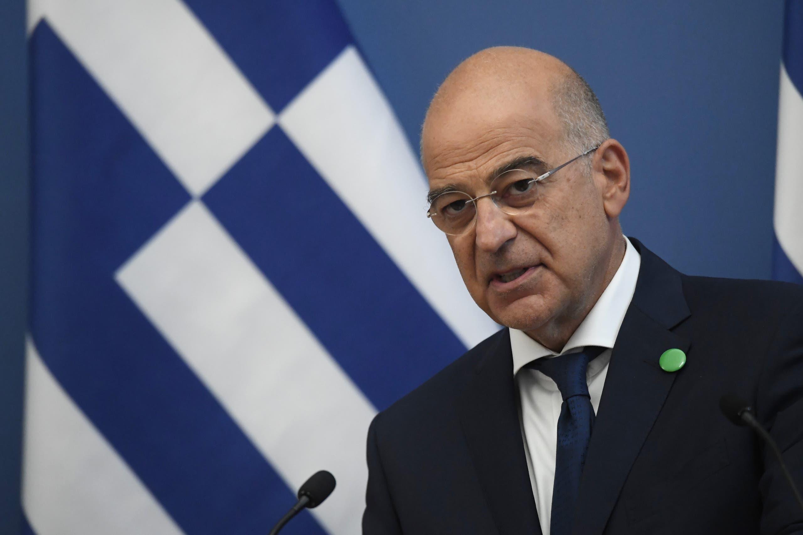 وزير الخارجية اليوناني نيكوس داندياس (أرشيفية فرانس برس)