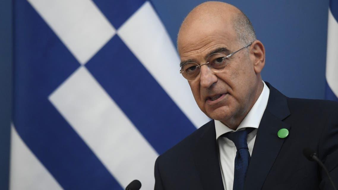 وزير الخارجية اليوناني نيكوس داندياس (أرشيفية فرانس برس9