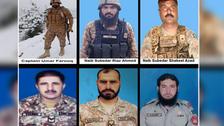 پاکستان : دہشت گردوں کے دوحملوں میں 12 سکیورٹی اہلکار شہید،متعدد زخمی