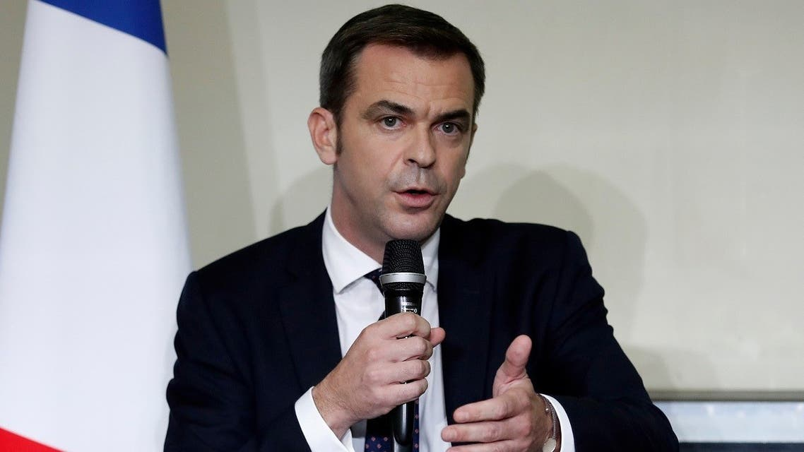 French Health Minister Olivier Veran. (Reuters)