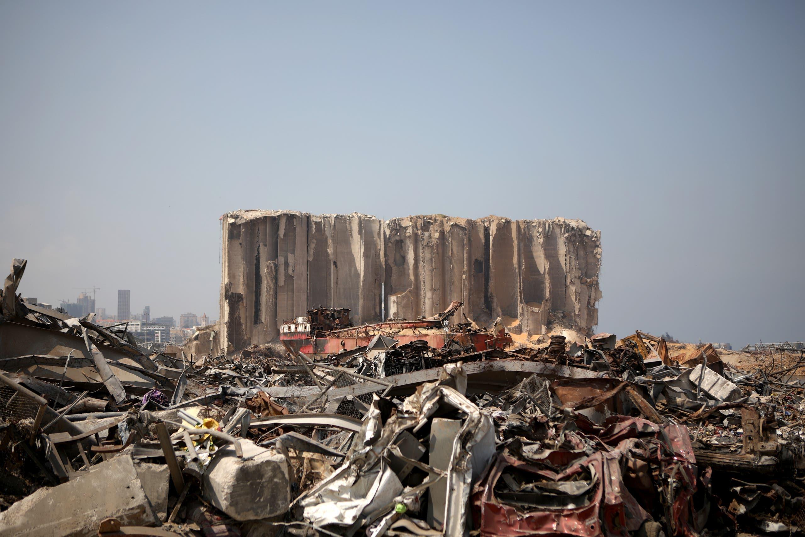 من ميناء بيروت (أرشيفية - فرانس برس)