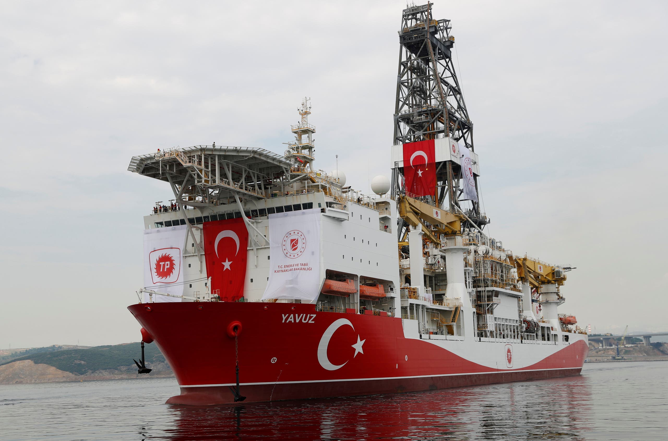 سفينة التنقيب التركية يافوز